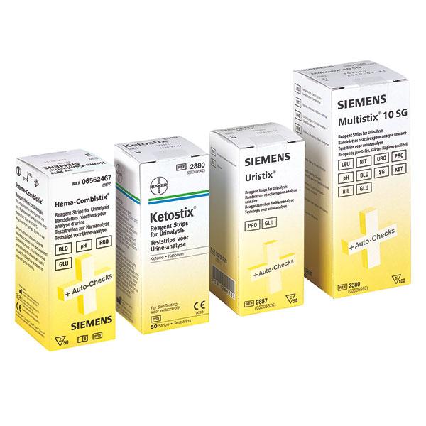 Multistix Harntest von Bayer / Siemens Urinteststreifen