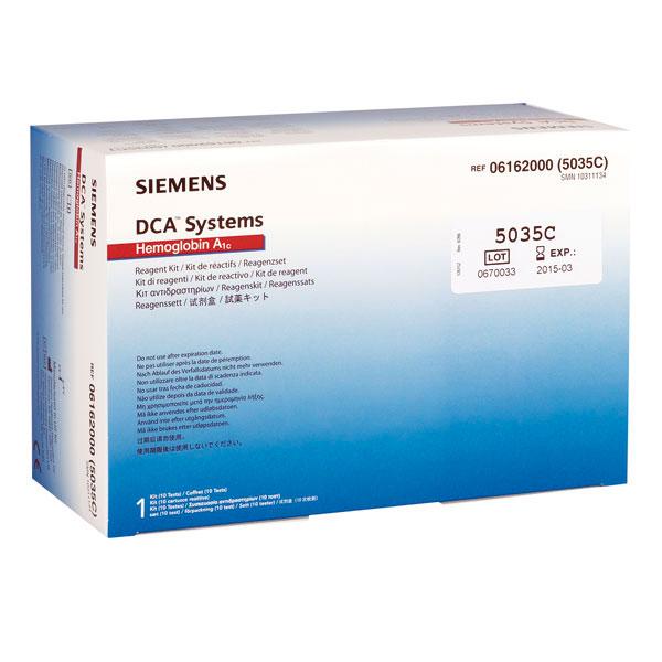 DCA 2000 System Hemoglobin A1C Reagenzset, HbA1c, 10 Tests