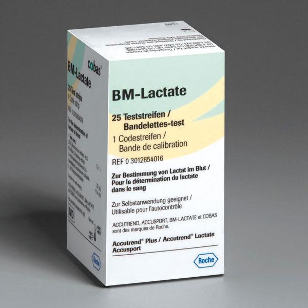 BM-Lactate Teststreifen