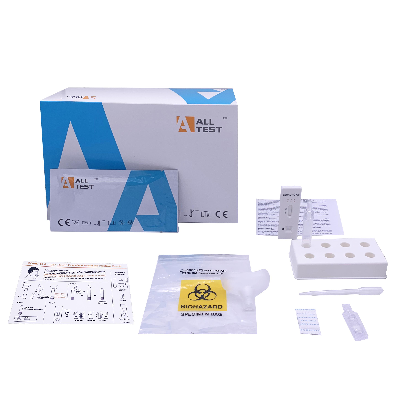 Alltest COVID-19 Antigen Schnelltest, Corona-Test, 20 Tests, BAG zugelassen, ideal für die Arztpraxis bei 10 - 80 Tests/ Woche