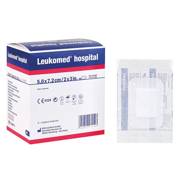 Leukomed hospital BSN.Bitte beachten sie die unterschiedlichen Grössen der verschiedenen Varianten