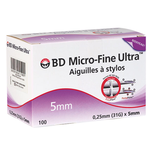 BD Micro-Fine Ultra PentaPoint™ Pen-Nadeln