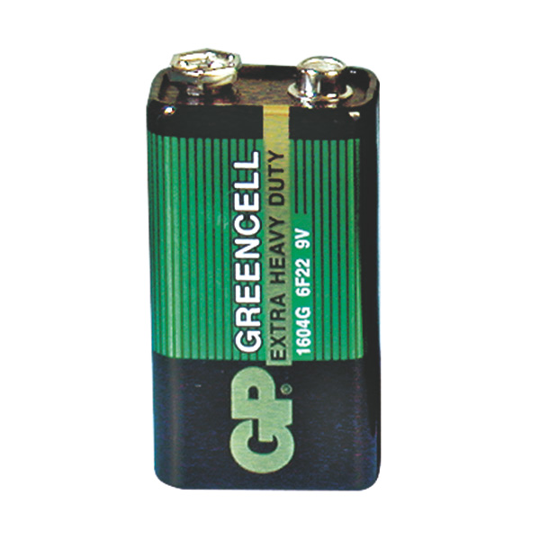Greencell Blockbatterie - 9 V