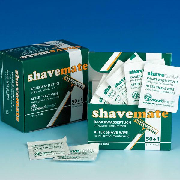Mediware Rasierwassertuch Shave Mate