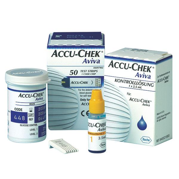 Accu-Chek Aviva Blutzucker Teststreifen, günstig 50 Tests