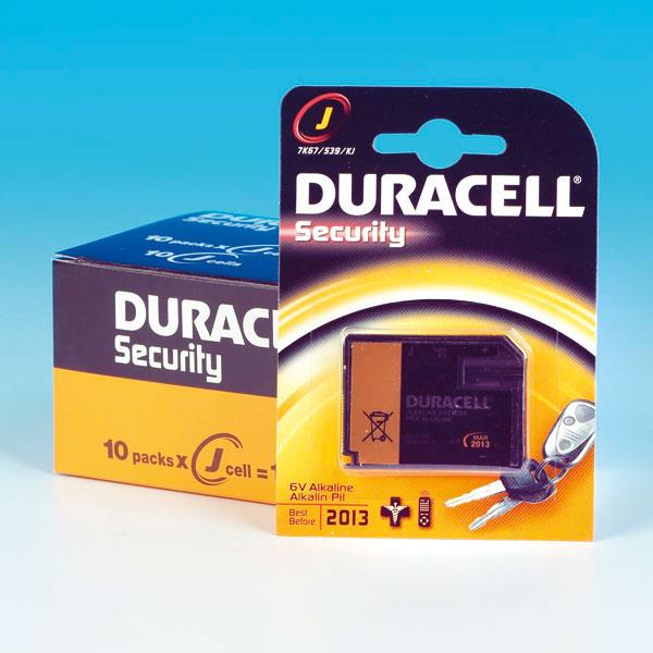 Batterie Duracell 7 K 67