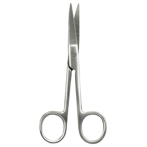 Chirurgische Schere > Gebogen, spitz - spitz