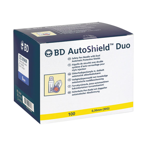 BD AutoShield Duo Sicherheits-Pen-Nadeln