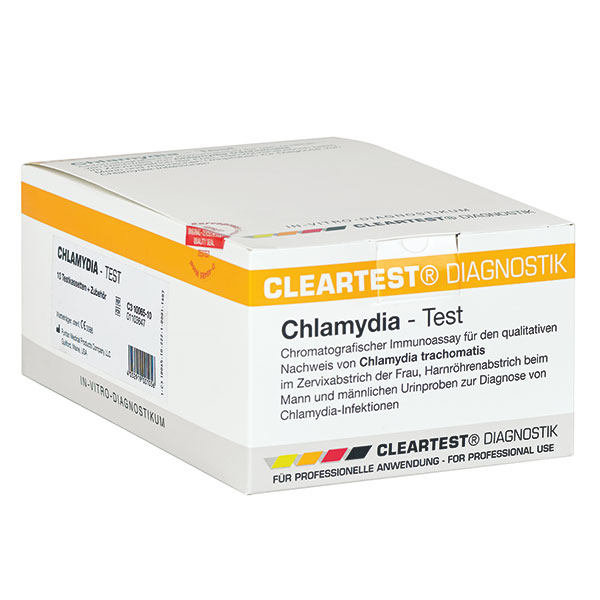 CLEARTEST Chlamydia, Kassettenschnelltest