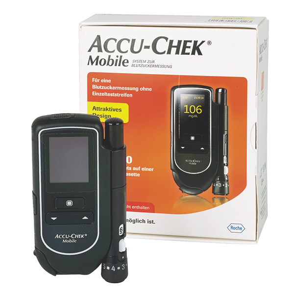 Accu-Chek Mobile Testkassetten, 50 Tests