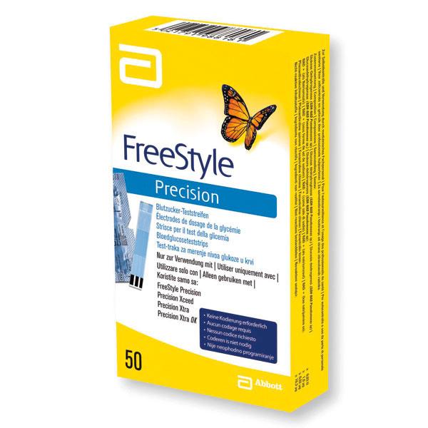 Freestyle Precision Teststreifen Blutzuckerteststreifen