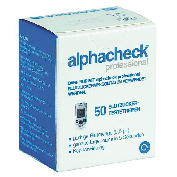 Alphacheck Teststreifen