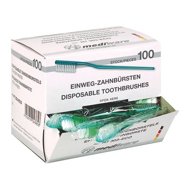 Mediware Einmal-Zahnbürsten