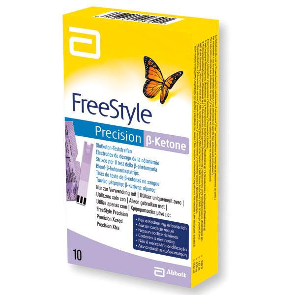 Freestyle Precision ß-Keton Teststreifen