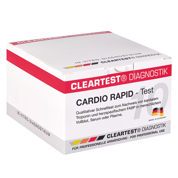 Cleartest Cardio rapid / Infarkttest