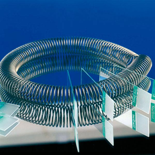 Objektträger Spirale
