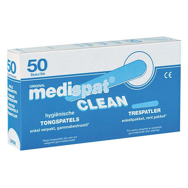 Medispat Clean Holzmundspatel > Einzeln