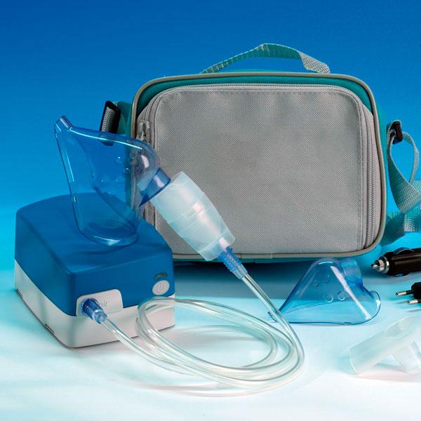 Mobil -Privat- Inhalator, formschön und handlich