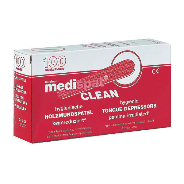 Medispat Clean Holzmundspatel