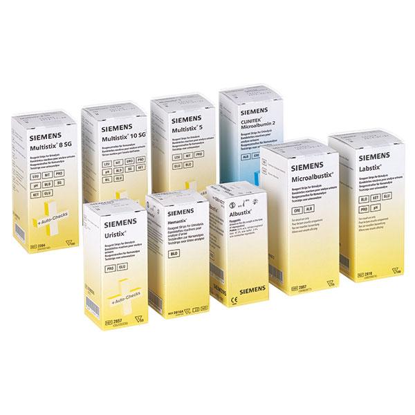 Harn Diagnostik von Bayer / Siemens Multistix Mikroalbumin Clinitek, Multistix 10 SG